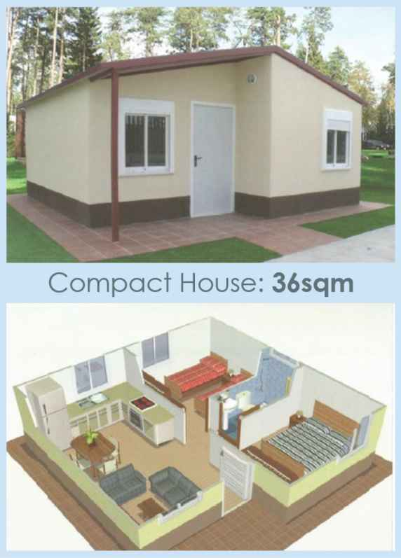 House in Columbia 36sqm