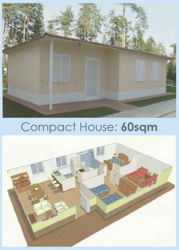 House in Columbia 60sqm