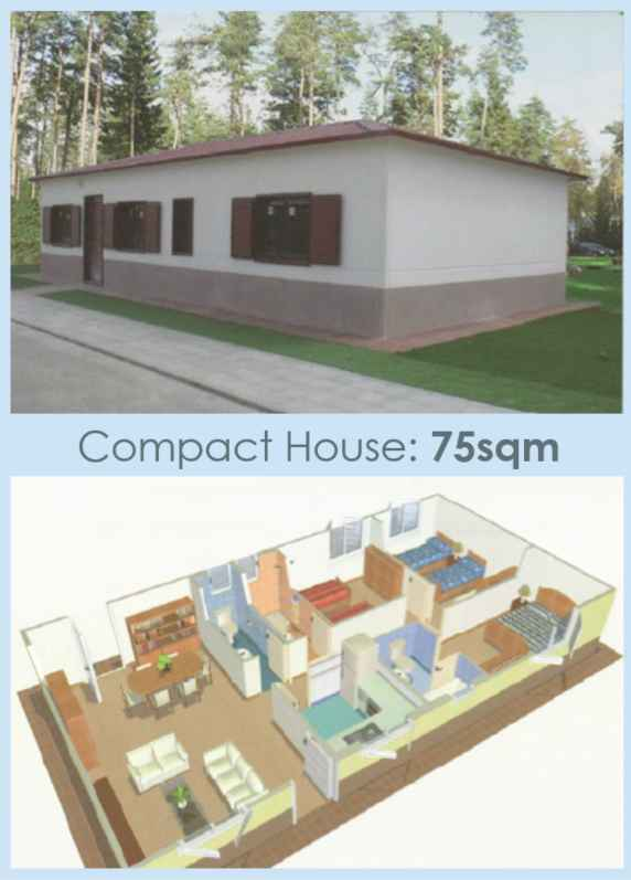 House in Columbia 75sqm